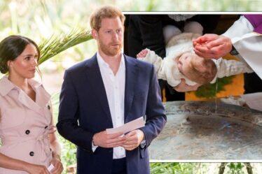 Famille royale en direct: non merci!  Harry et Meghan pourraient éviter le Royaume-Uni pour le baptême de Lilibet
