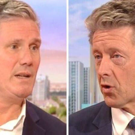"""""""Fin des reportages impartiaux de la BBC"""" Charlie Stayt suscite un tollé avec l'interview de Keir Starmer"""
