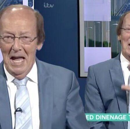 Fred Dinenage 'Je ne prends pas ma retraite !  - Je n'arrêterai jamais de travailler !'  malgré le choc, arrêtez sur ITV