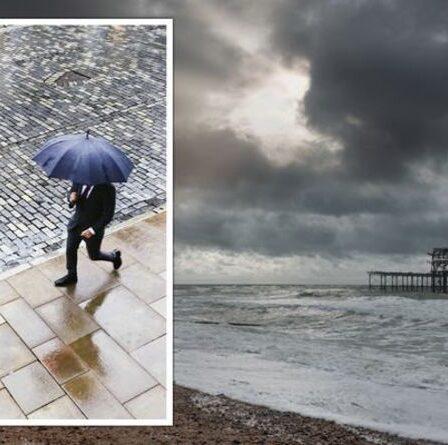 Grand temps britannique : les endroits les plus gris du Royaume-Uni nommés – lequel est arrivé en tête ?