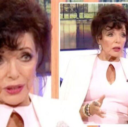 Joan Collins laisse les téléspectateurs de One Show abasourdis par son apparence «sans âge»: «Comment va-t-elle 88»