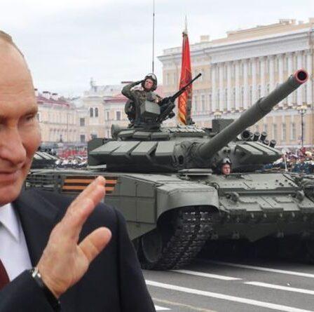 """La Russie constitue une """"menace sérieuse"""" pour le Royaume-Uni alors que Poutine développe un trésor de guerre d'armes avancées"""