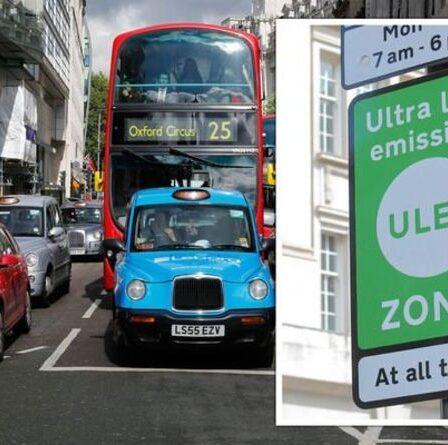 La zone à très faibles émissions commence une semaine aujourd'hui - votre voiture est-elle conforme?