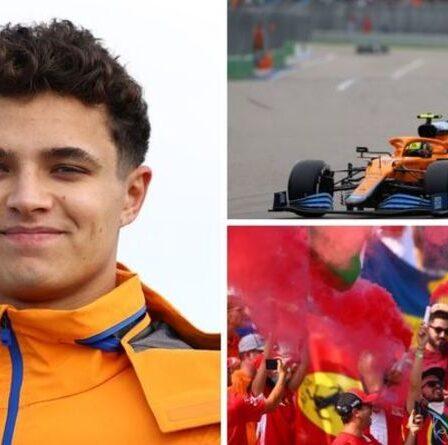 Lando Norris laisse tomber l'indice de transfert de Ferrari après la surface des conversations de Lewis Hamilton