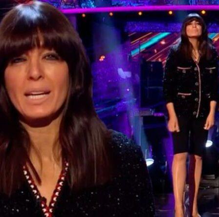 """L'apparition de Claudia Winkleman laisse les téléspectateurs de Strictly Come Dancing perplexes: """"Bon dieu!"""""""