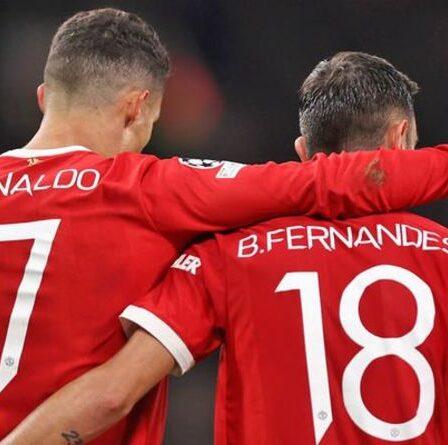 "Le duo de Man Utd, Cristiano Ronaldo et Bruno Fernandes, ""provoquera la discorde dans l'équipe"""
