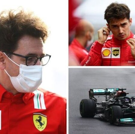 Le patron de Ferrari, Mattia Binotto, croit aux pneus Lewis Hamilton du Grand Prix de Turquie
