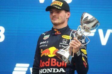 Le patron de Red Bull, Christian Horner, n'est pas d'accord avec Sir Jackie Stewart sur Max Verstappen