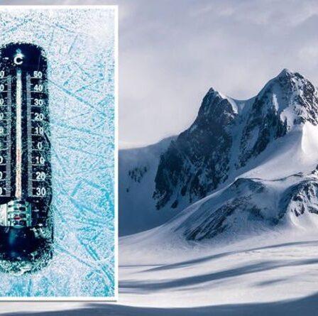 Le pôle Sud de l'Antarctique a gelé pendant l'hiver le plus froid jamais enregistré malgré la crise climatique