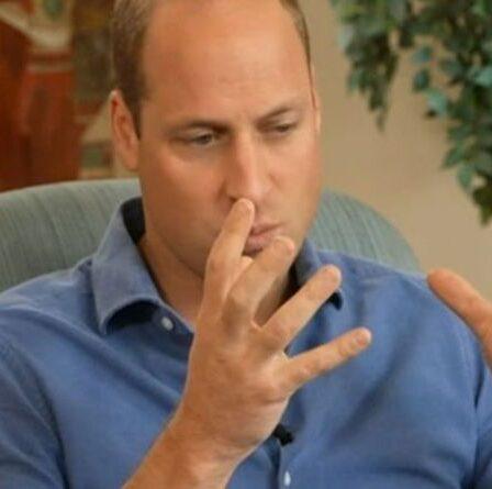 """Le prince William riposte aux critiques environnementaux du prince Charles """"J'ai eu du mal à rouler !"""""""