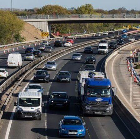 Les conducteurs pourraient faire face à une amende de 100 £ et des points sur leur permis avec un nouveau changement de caméra sur autoroute