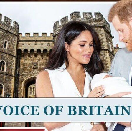 """Meghan et Harry ont exhorté à ne pas faire baptiser Lilibet au Royaume-Uni - """"Brûlé tous les ponts!"""""""