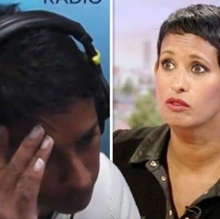 Naga Munchetty: l'animateur de BBC Breakfast réprimandé par le producteur après une plaisanterie coquine à l'antenne