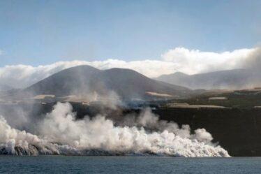 «Pas bon à respirer!»  Le volcan La Palma entre en éruption avec un dangereux panache de gaz