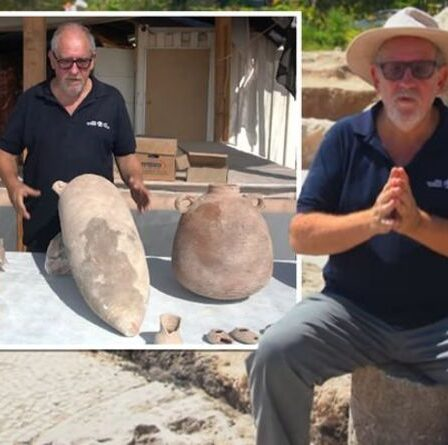 Percée archéologique : une énorme usine de vin vieille de 1500 ans découverte en Israël