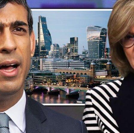 """Rishi Sunak lance le plan directeur de la ville de Londres pour """"saisir un avantage concurrentiel"""" sur l'UE"""