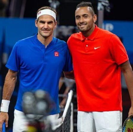 Roger Federer nommé GOAT sur Rafael Nadal et Novak Djokovic par Nick Kyrgios