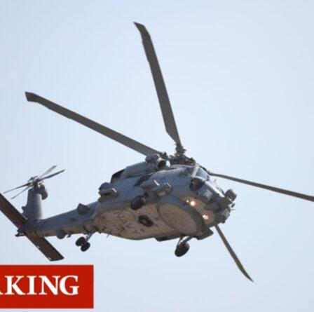 Sauvetage en mer des Philippines : trois blessés après que l'hélicoptère MH-60R Seahawk a été abandonné dans l'océan