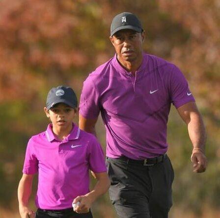 Tiger Woods fait le point «optimiste» sur le retour du golf huit mois après un accident de voiture d'horreur
