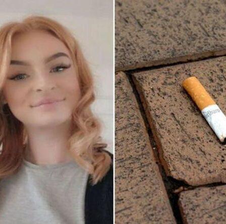 Un fumeur condamné à deux semaines de salaire après avoir laissé tomber une cigarette dans la rue
