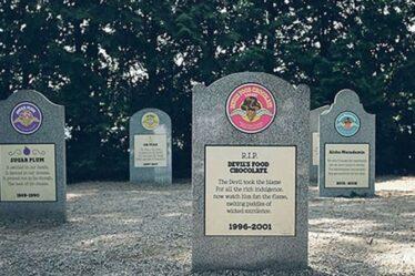 Votre glace préférée vous manque ?  Visitez le « cimetière des saveurs » de Ben & Jerry's